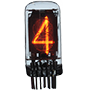 0-9 National Electronics Numeral Nixie Display