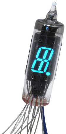 Futaba DG10S alpha / numeric display, digits with decimal and a + sign