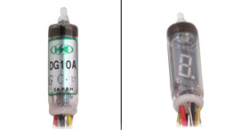 7 segment w/ decimal vacuum florescent display tube