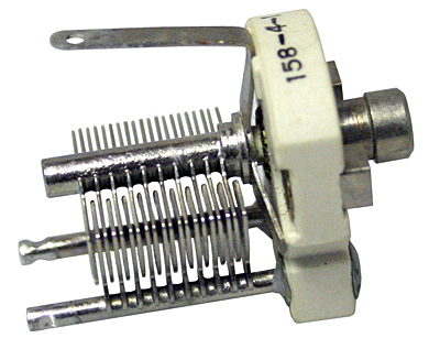 Air Variable Capacitors Slotted