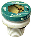 "Fustat Household Fuses Type ""S"" - Small Base Time Delay"