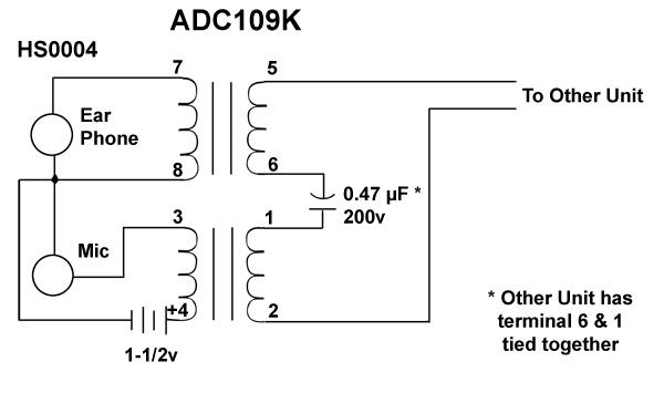 adc109k adc dual transformer