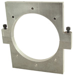 Research Laser Chamber Tube End Wall Clamp