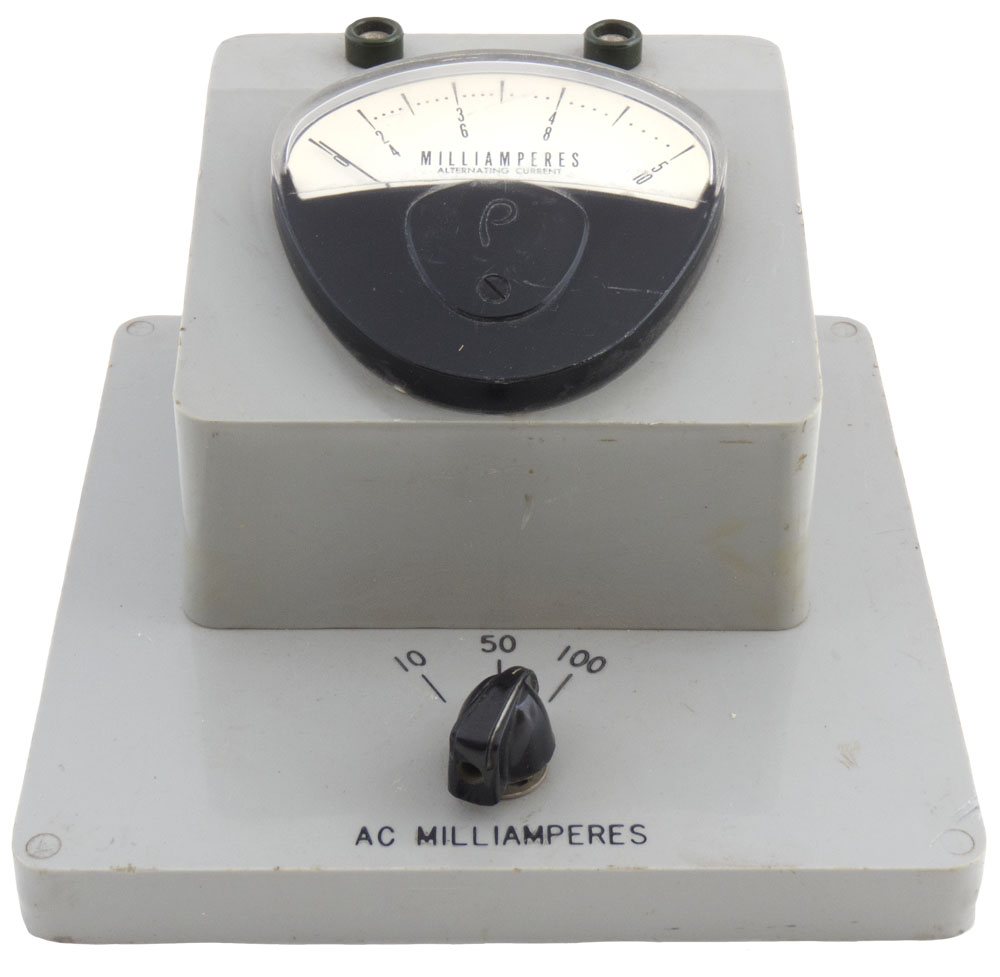 10-50-100 ma AC Benchtop AC Milliammeter