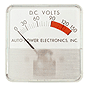 Greater Than 50 Volts DC Meters