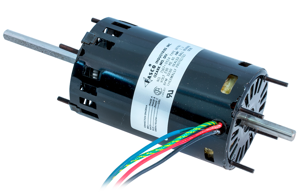 Small ac motors for A to b motors