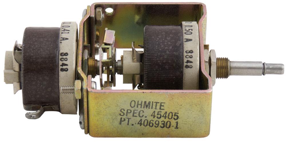 Potentiometers: Rheostats - 100 Ohm to 999.9 Ohm