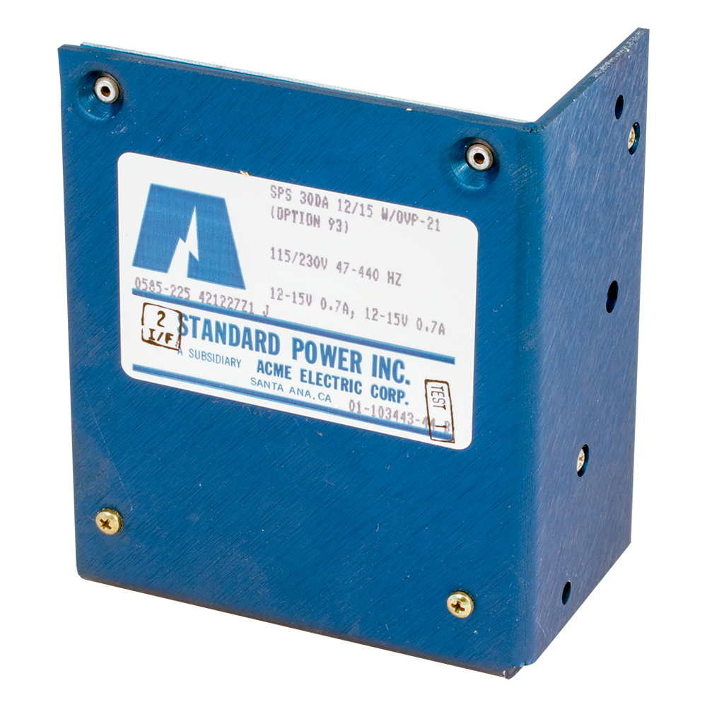 Power Supplies: 3 Volt to 12 Volt