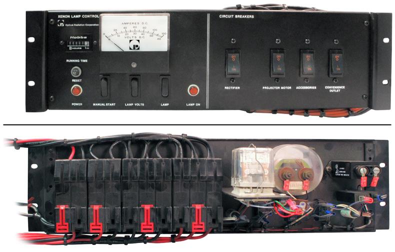 Xenon Lamp Control Panel