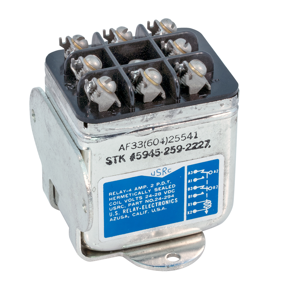 Hermetically Sealed Aircraft Relays 24v To 28v Coils 24 Volt 8 Pin Relay Wiring Diagram Enlarge Image