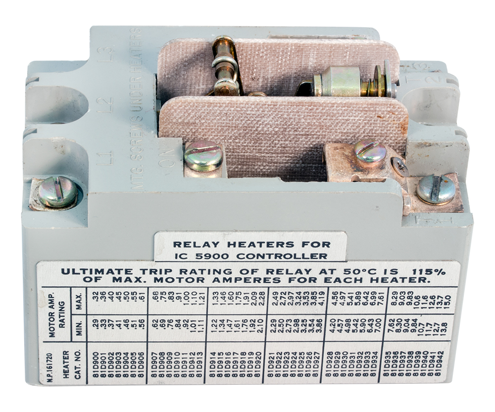 Motor Starting Relays Dpdt Relay Wiring Diagram 208v Enlarge Image Opposite Side View Tag