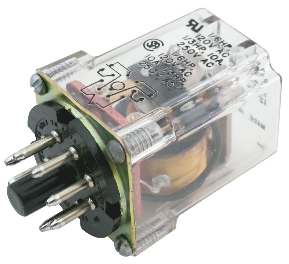 Octal Relay Wiring Diagram 8 Blade Dpdt Plug In Relays Contacts Pin