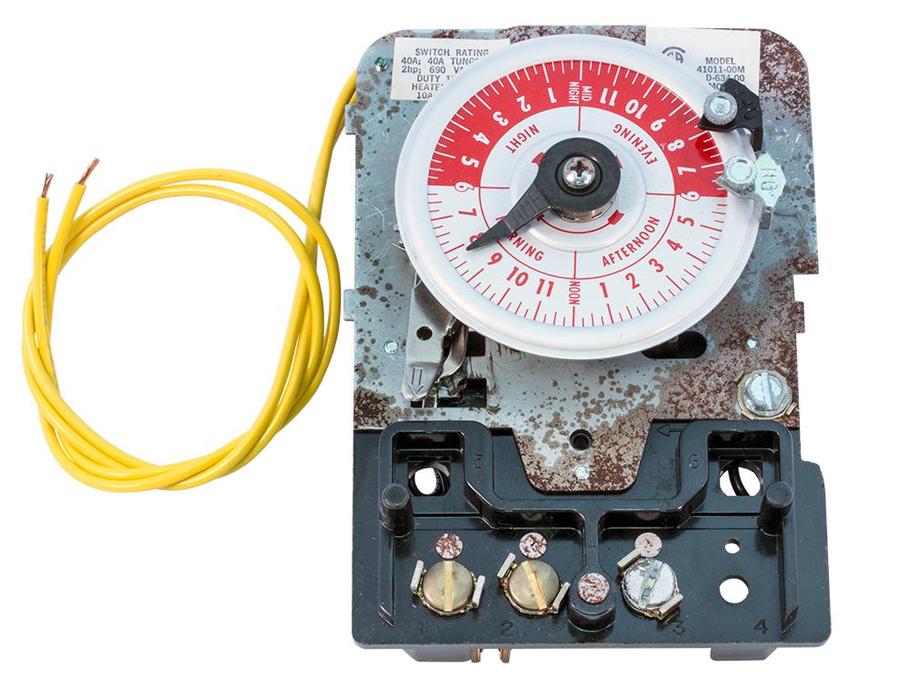 timer relays  mechanical
