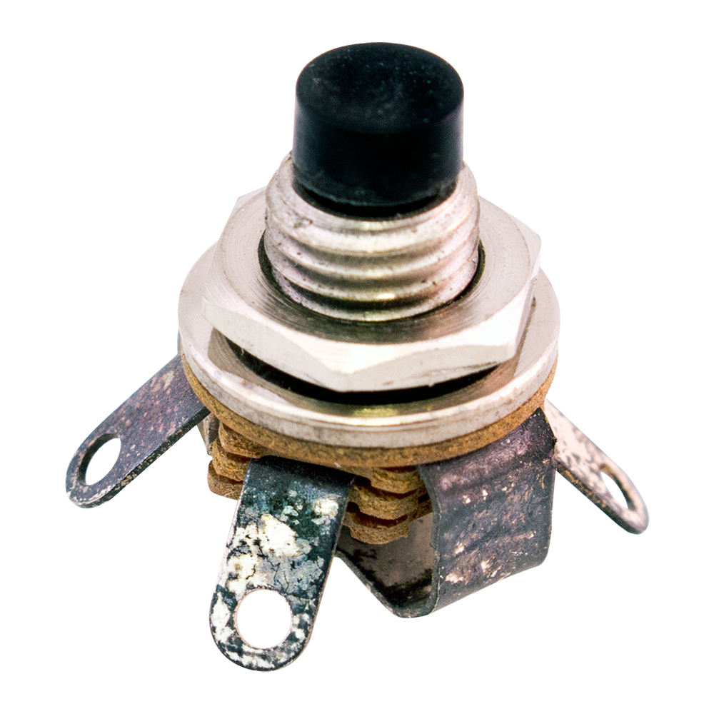 Non Illuminated Pushbutton Switches Surplus Sales Of Nebraska Push Button Onoff Soft Latch Circuits Battery Powered Touch Toggle Enlarge Image