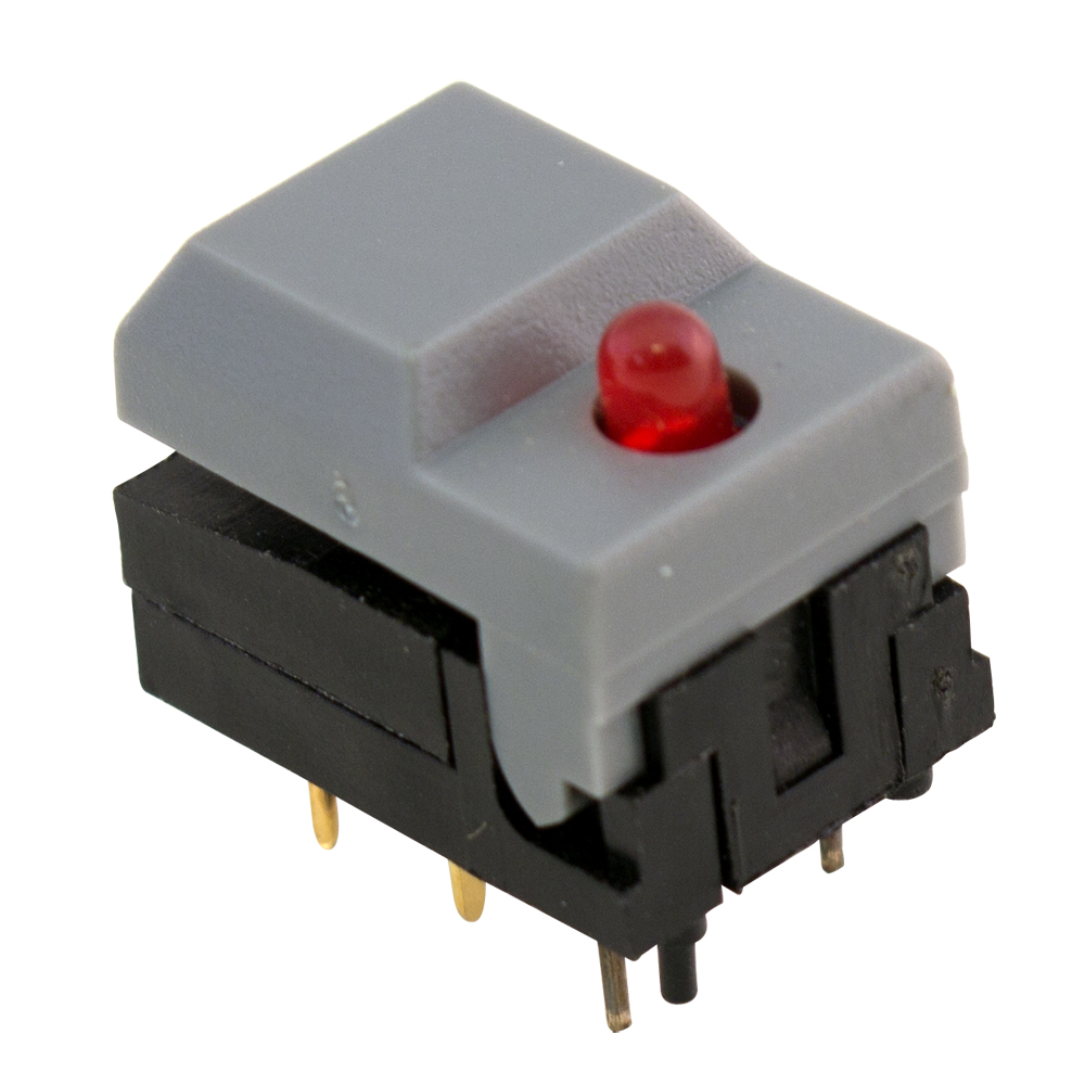 Non Illuminated Pushbutton Switches Surplus Sales Of Nebraska Push Button Onoff Soft Latch Circuits Battery Powered Touch Toggle Shanpu Latching Switch With Red Led
