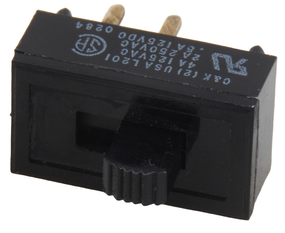 Slide Switches Surplus Sales Of Nebraska Spdt Switch Switched To The Right Ck 4 Amp 125v 2 250v Ac Dpst