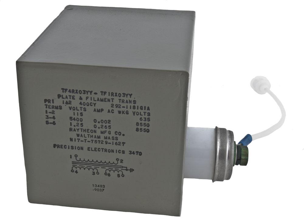 3470 Power Transformer 400hz 115v 5400v 115v 1