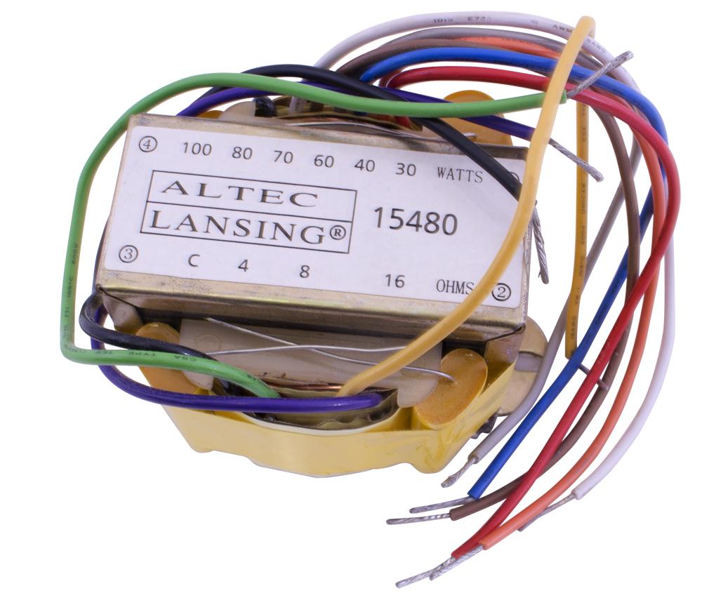 Speaker Transformer Wiring Free Download 70 Volt Diagram 15480 Altec Lansing Matching 24 At