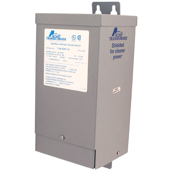 distribution transformers 1 5kva single phase transformer 120 240v
