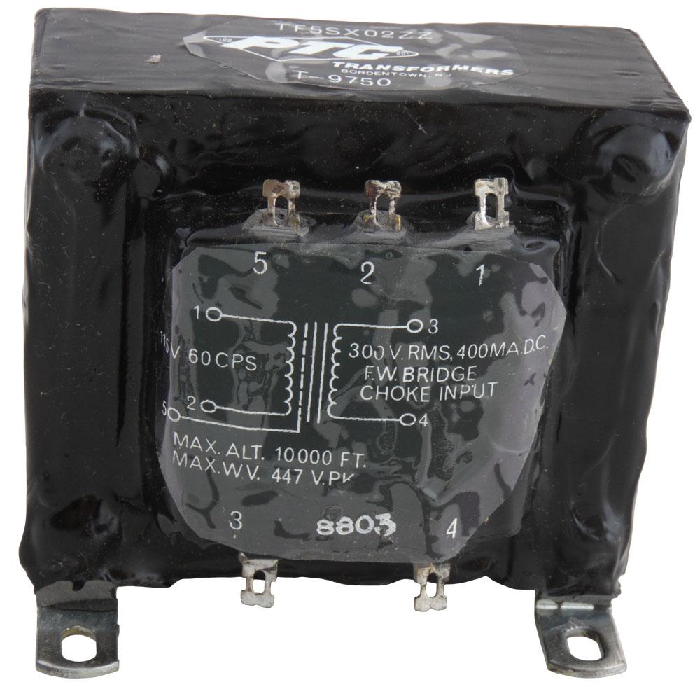 T9750 Transformer 115v 300v 400ma