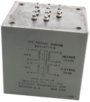 Marine Transformer 115/230V to 38V RMS @ 1.5A and 12.3V RMS @ 2A