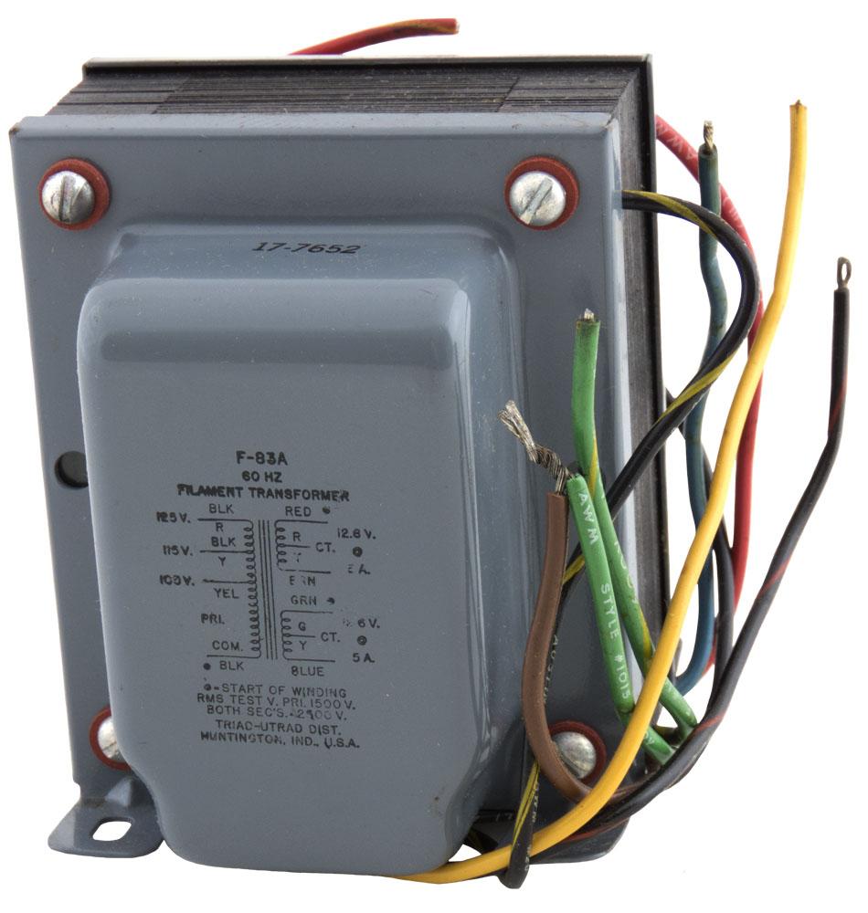 F83a Triad Filament Transformer Electronics