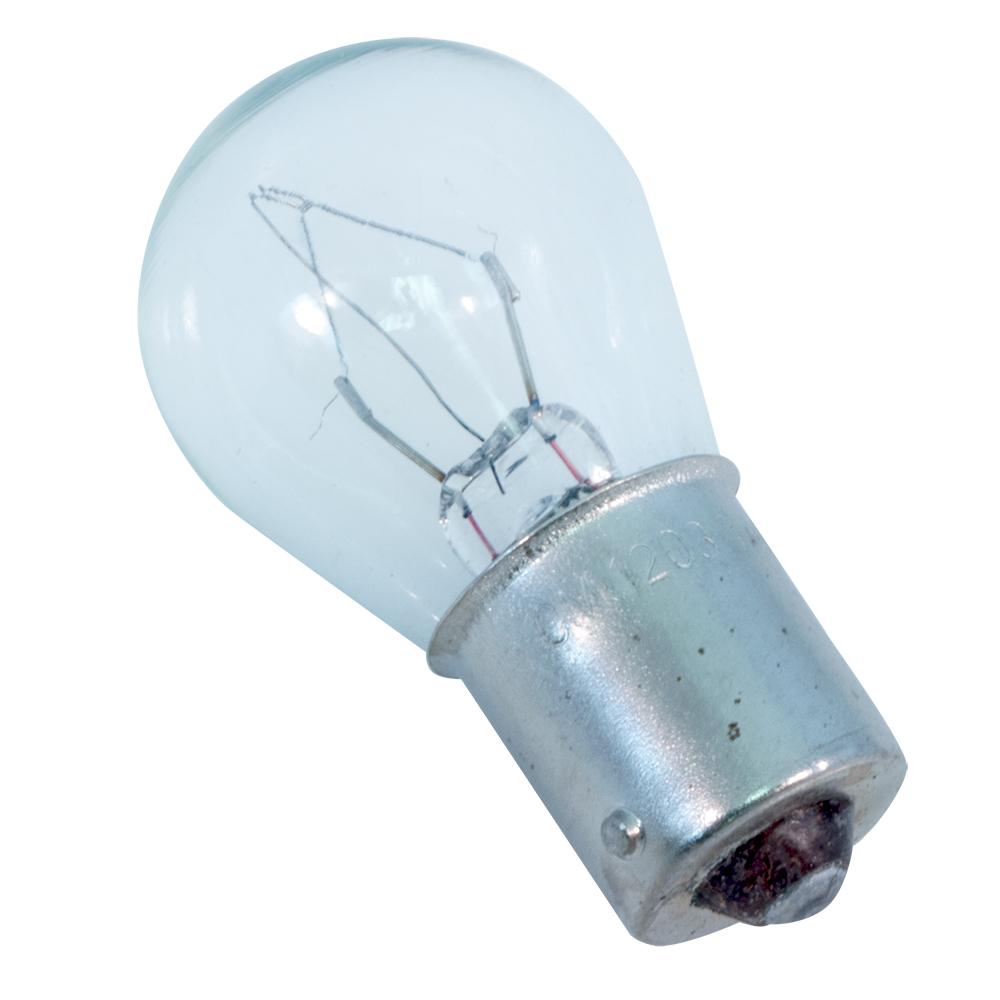 Miniature Bayonet Base, 12-Volt, 10.2-Watt, .8-Amp, Clear, 2-Pack Ancor 521416 Marine Grade Electrical Light Bulb