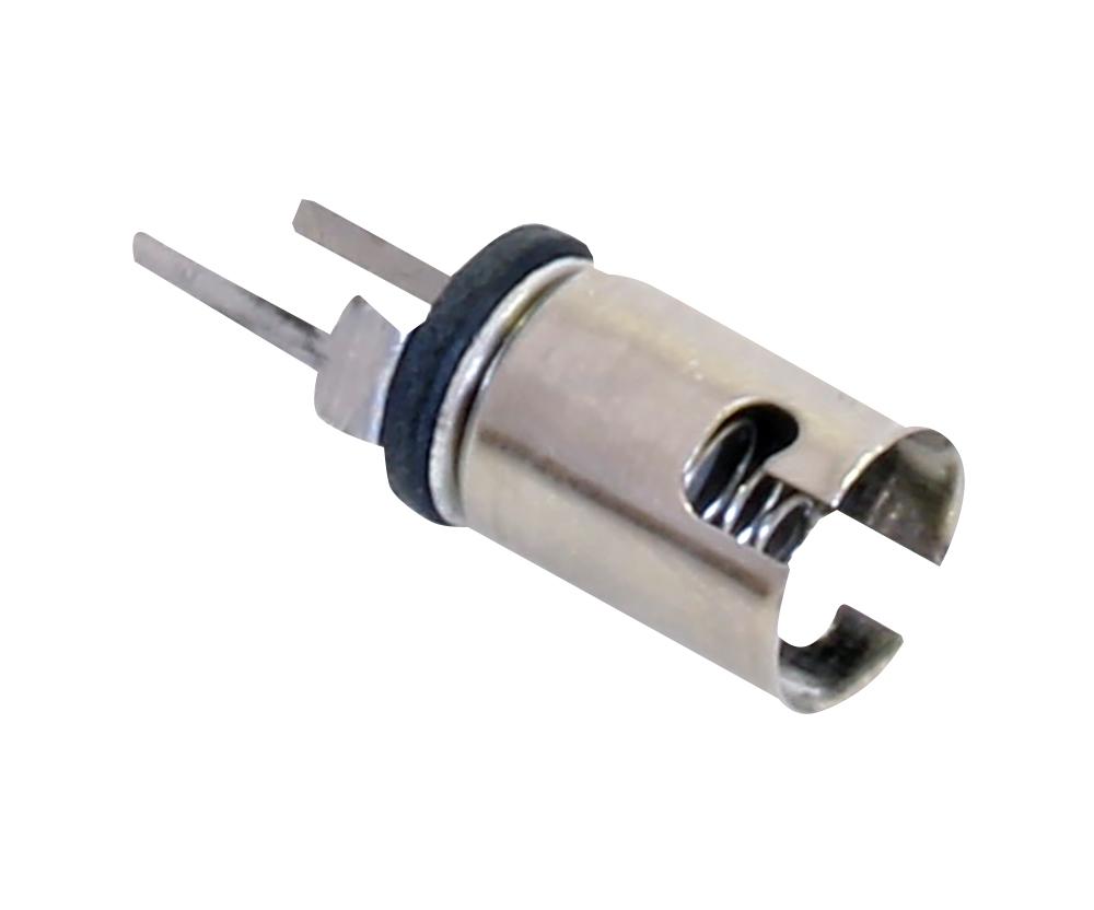 CML 900-200 Lamp Socket; Panel Mount; T2; T3 1//4 Miniature Bayonet; 3W; used
