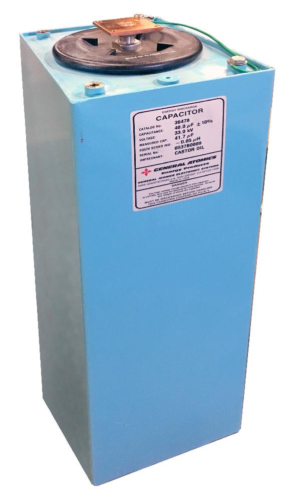 High Energy – Quick Discharge Capacitors