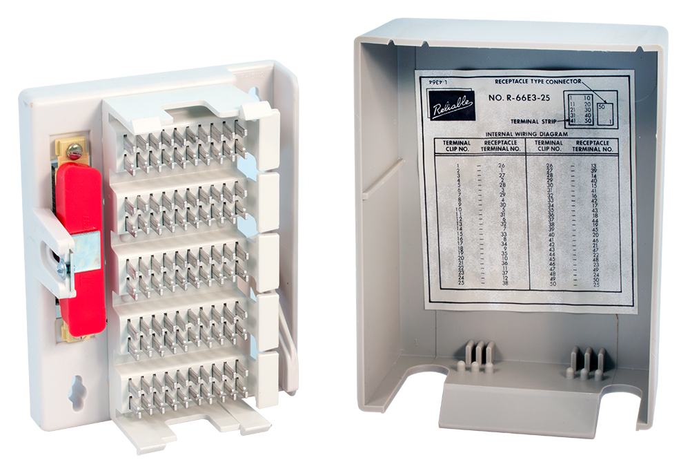 Telephone Terminal Block Wiring Diagram from www.surplussales.com