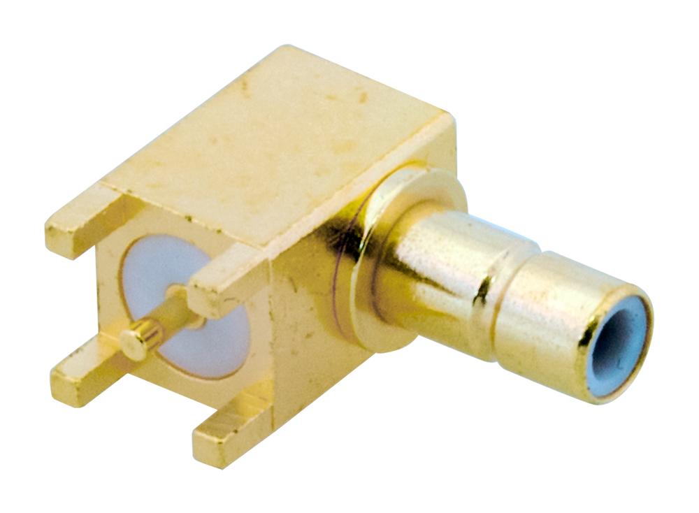 Pack of 2 415-0003-MM500 RF Cable Assemblies Straight SMB Plug to Straight SMB Plug