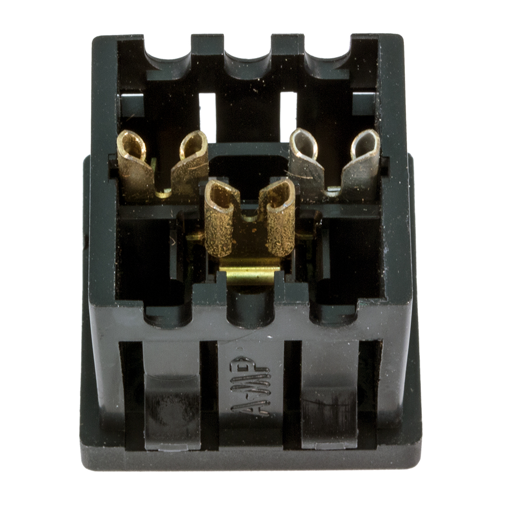 Electrical Ac Receptacles Outlets Female Connector Front Face View And Back Wiring Pin 1 To 6 Enlarge Image Rear