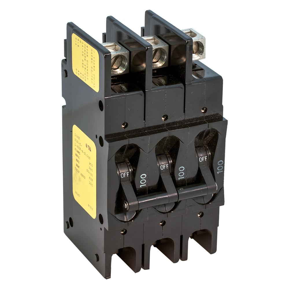 Heavy Duty Large Circuit Breakers - 3 Pole