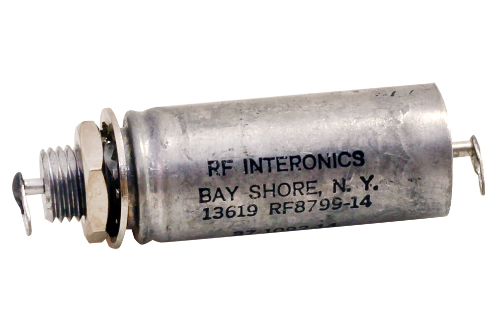 10 pieces EMI Feedthrough Filters 1000pF 200Volts@125C