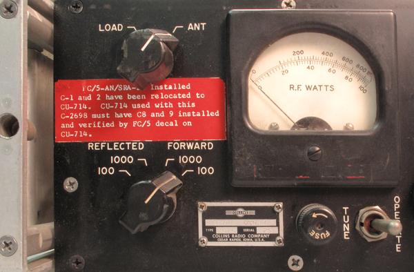 Collins: Watt Meters - 312B-3,4,5 / 302C1/2