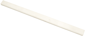Alumina Ceramics Rod with Routed Edge