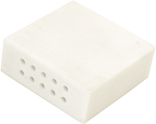 Alumina Ceramics Block with Through Holes