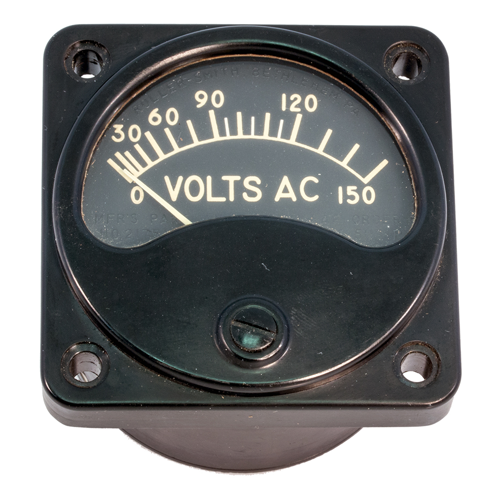 Meters: AC Volts - 150 vac only