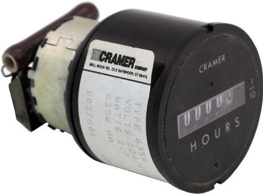 Cramer Hour Meter : Sensitive research instrument corp model fm fluxmeter
