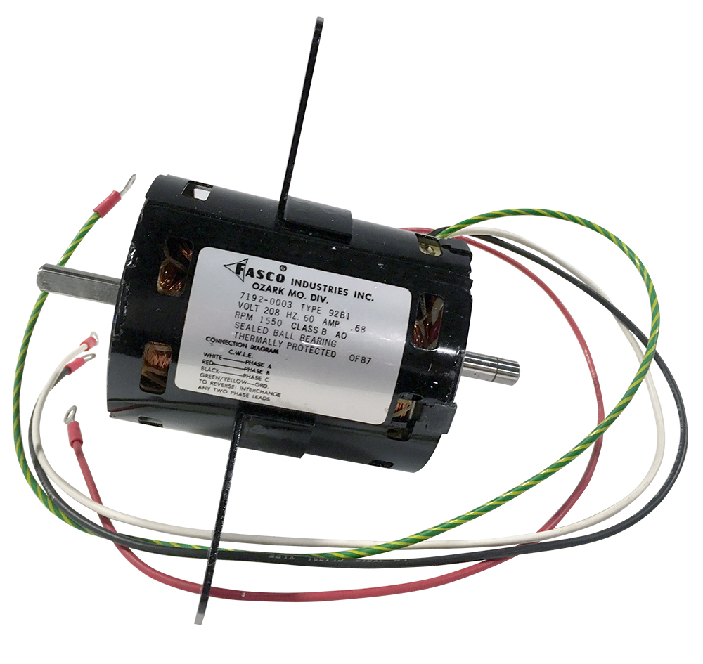 Small AC Motors on