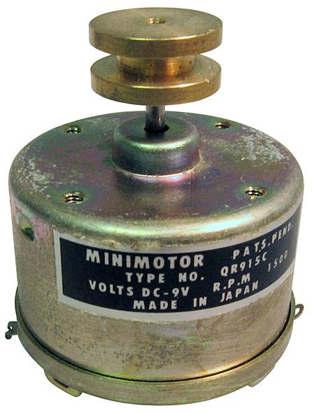 Motorola Seguin DC Motor 12v DC
