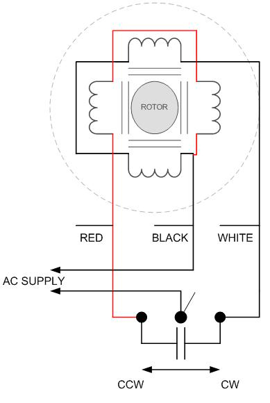 ac synchronous motor 3 phase wiring diagram basic wiring diagram u2022 rh rnetcomputer co single phase synchronous motor wiring diagram Single Phase Motor Wiring Diagrams