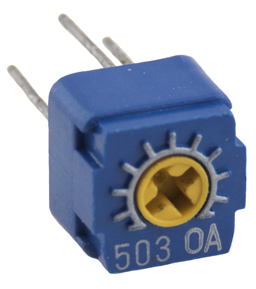 3359P-1-503 Bourns Trimmer Potentiometer Cermet 5 pcs 50K ohm 0.5 Watt