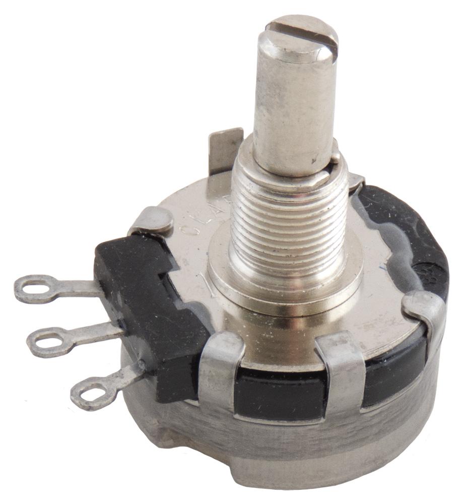panel bushing mount pots with shaft single turn 0 to 299 ohm rh surplussales com Clarostat Web Clarostat Catalog