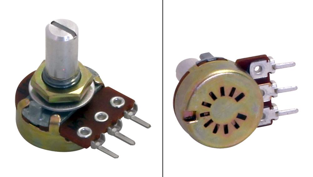 for Installation 1 rotation 20X RKT6V-200K Potentiometer lying 200kΩ 100mW SR PA