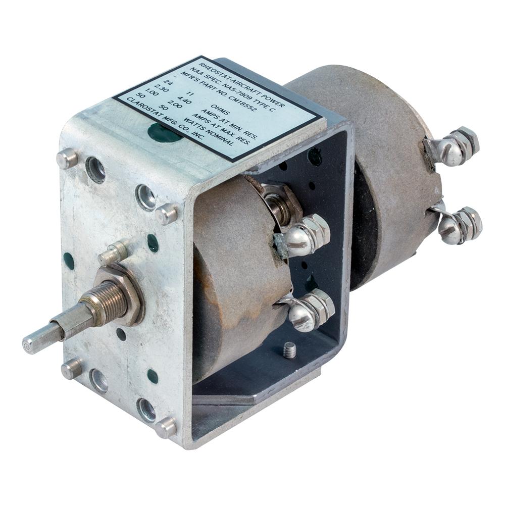 Potentiometers: Rheostats - 0 5 Ohm to 19 9 Ohm