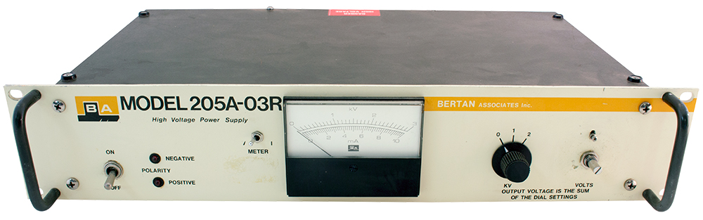 Bertan power supply