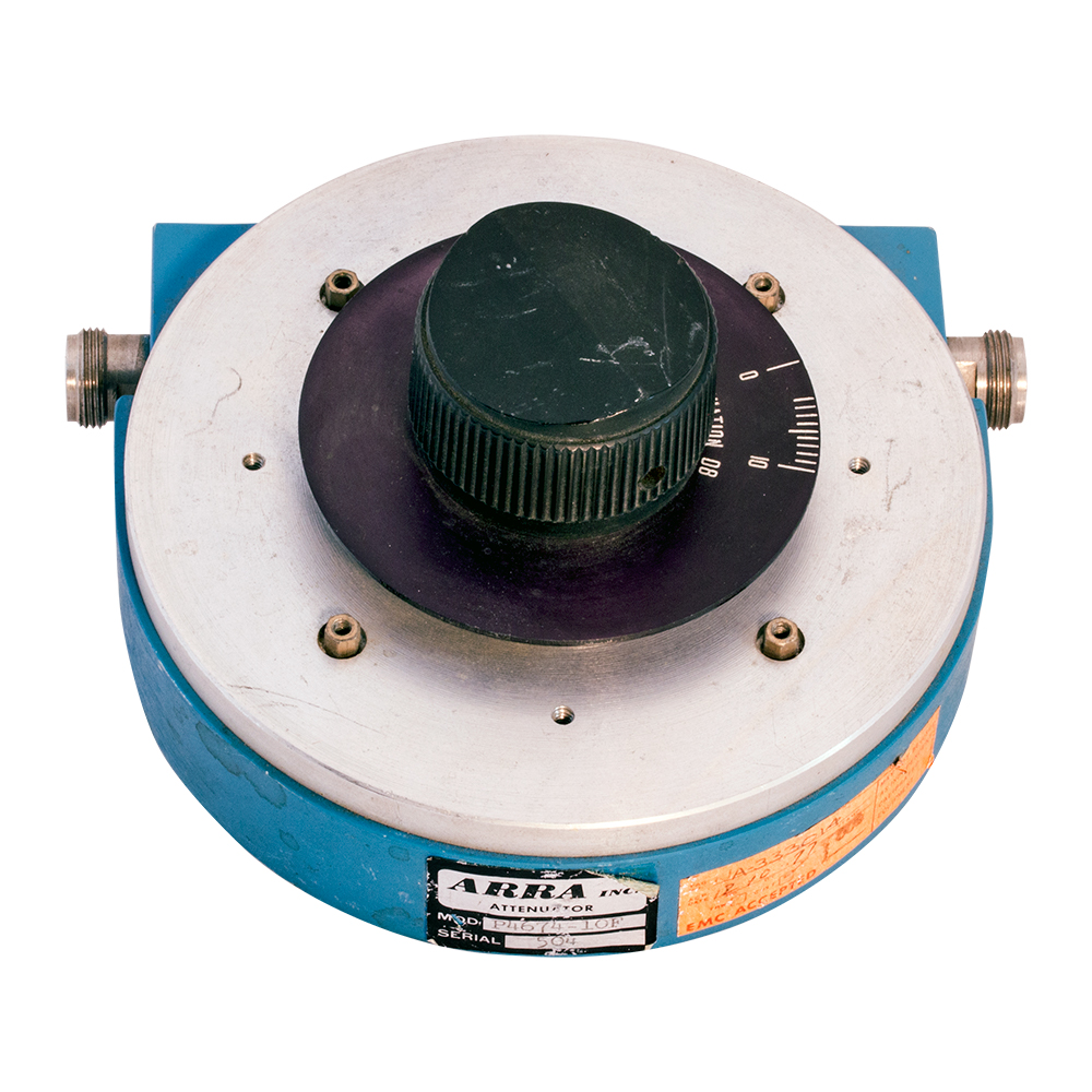 Coaxial Continously Variable Attenuators Voltage Controlled Attenuator Enlarge Image