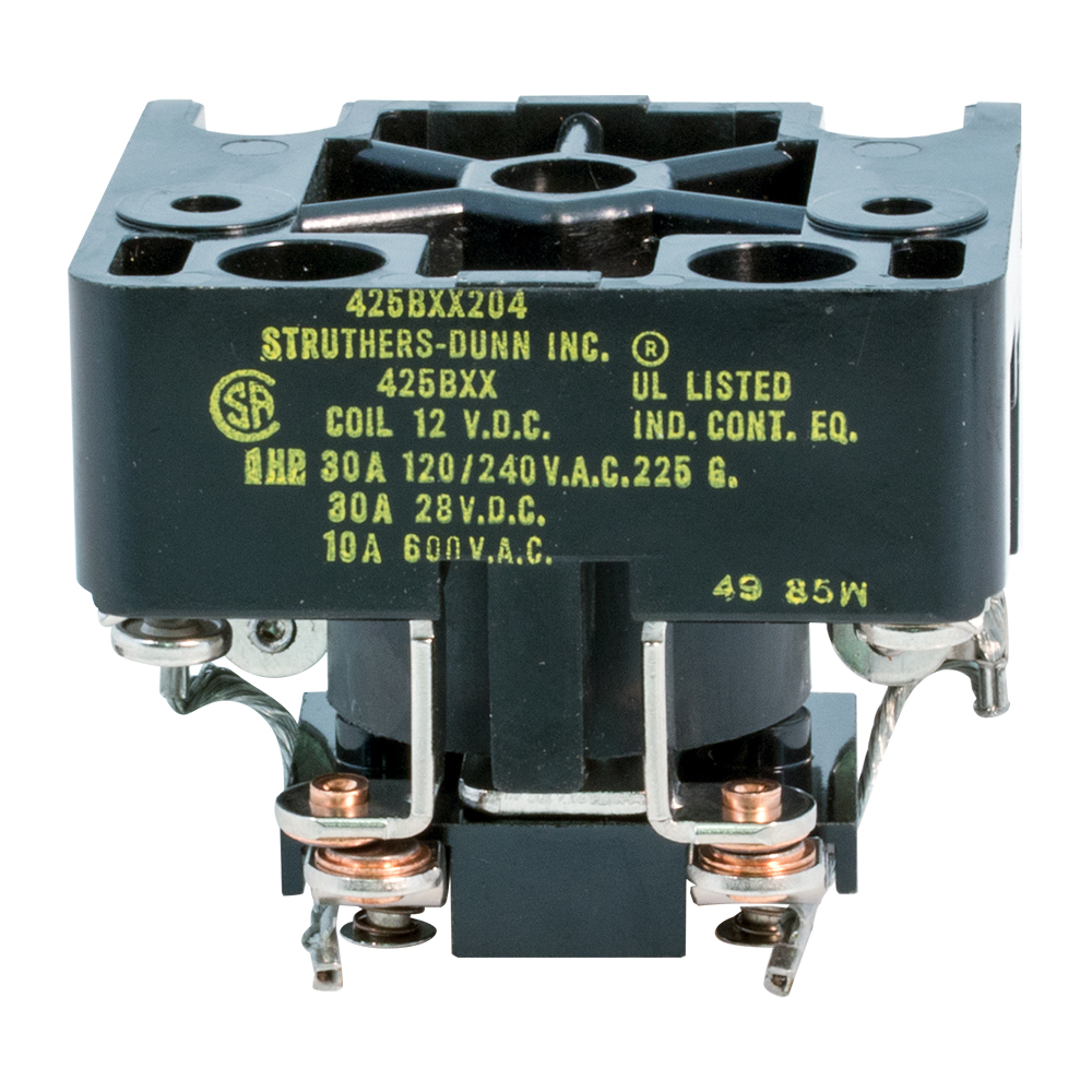 Contactor Relays 1v To 50v Nc Spst Relay 8211 Normally Closed Enlarge Image