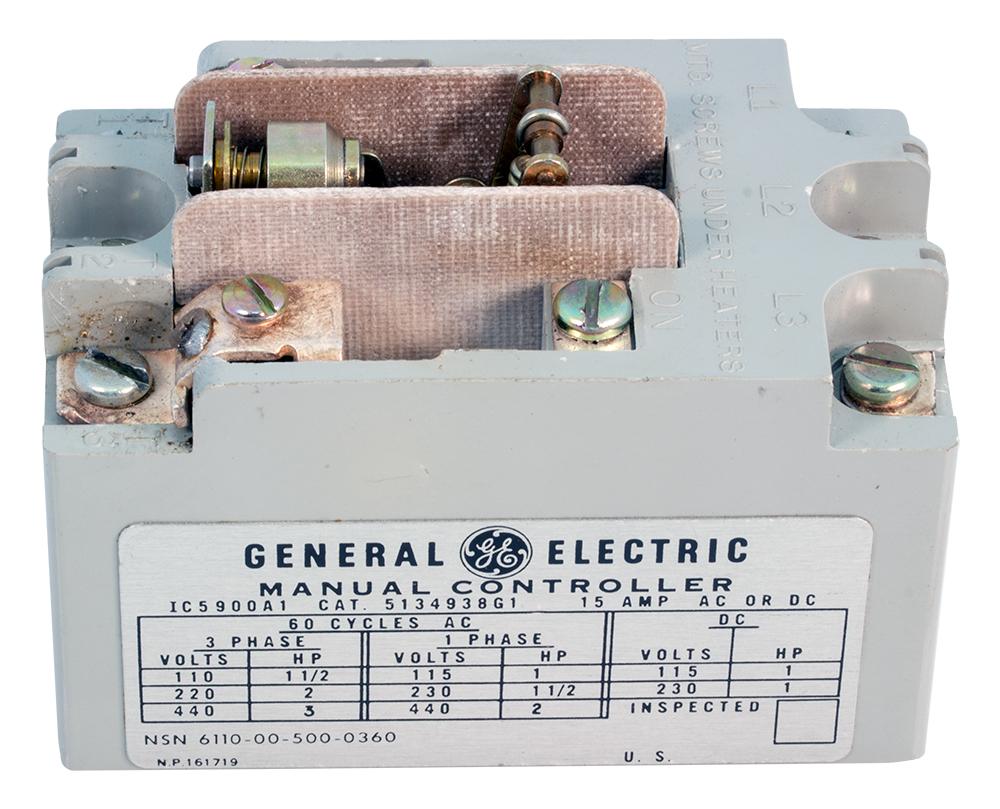 Motor Starting Relays General Electric Relay Manuals Enlarge Image